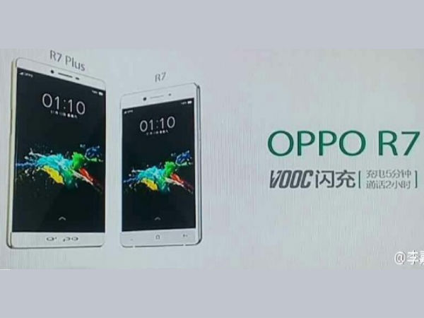 Oppo R7 Plus with No Bezel, Finger Print Sensor Spotted [Report]