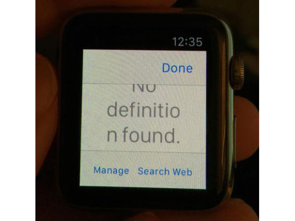 Here's How a Web Browser on the Apple Watch Looks Like [VIDEO]