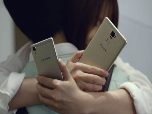 Oppo R7 And R7 Plus Images Revealed In Chinese Commercial