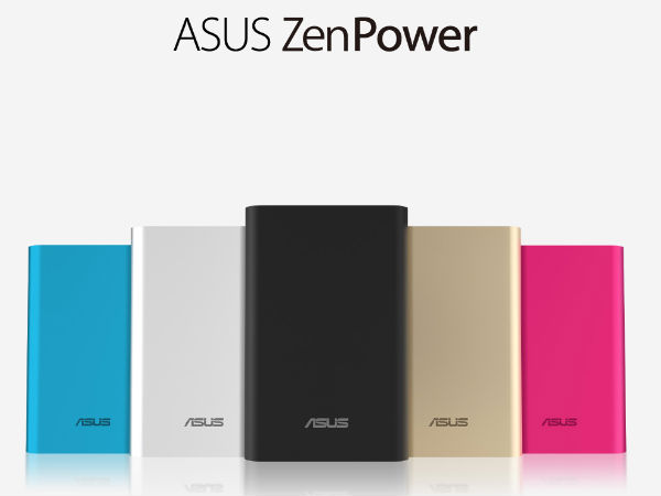 Asus ZenPower with 10050mAh Power Bank Launched, Starting at Rs 1,499