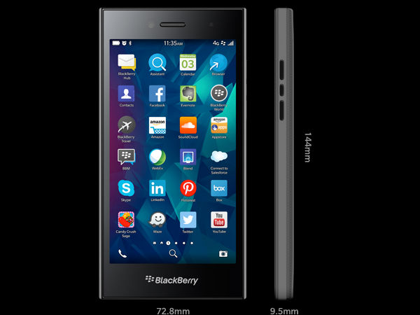 BlackBerry Leap with 5-inch Display, 2GB RAM Launched at Rs 21,490