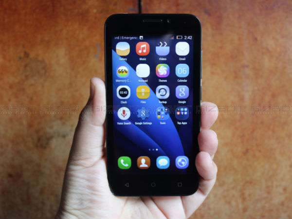 Huawei Honor Bee Available Only in Flipkart