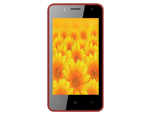 Intex Cloud N with 4-inch Display, Android KitKat Launched at Rs 4,199