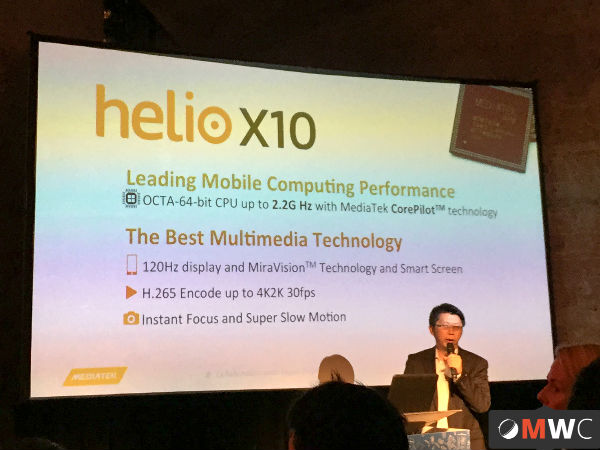 MediaTek Launches 10 Core Chipset Helio X20