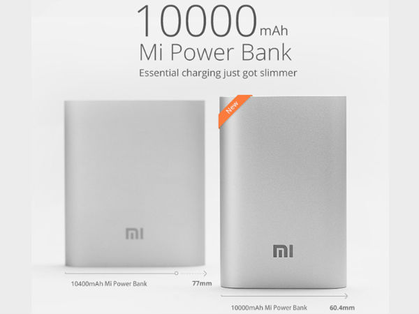 Xiaomi Launched 10,000mAh Battery Power Bank in the Market