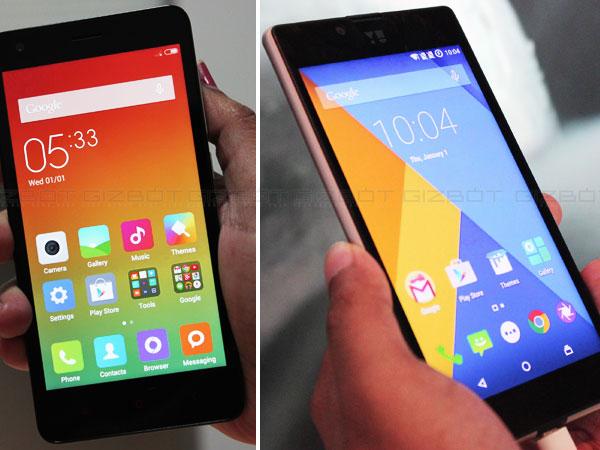 Micromax Yu Yuphoria vs Xiaomi Redmi 2: Battle Of Budget Smartphones