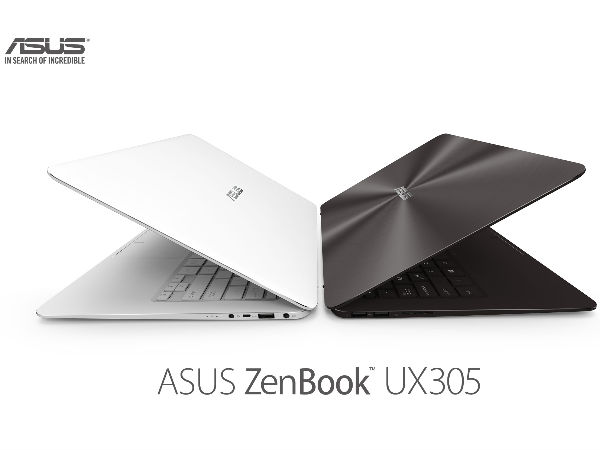 ASUS ZenBook UX305 with Intel CPU, 512GB SSD Launched at Rs 49,999