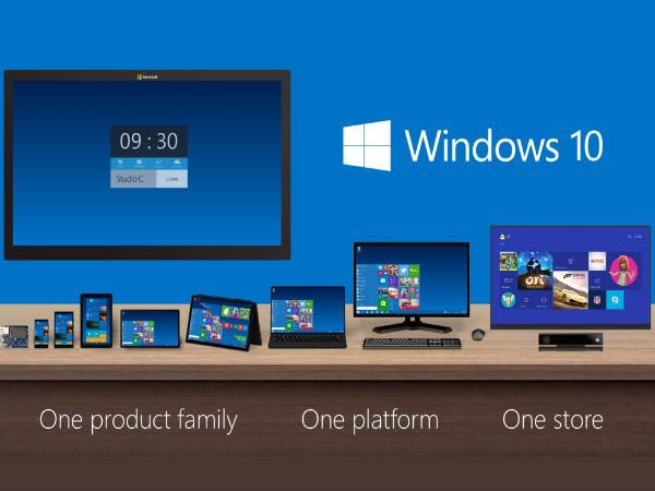 Microsoft Announces Windows 10 Editions: Home, Mobile, Pro, Enterprise