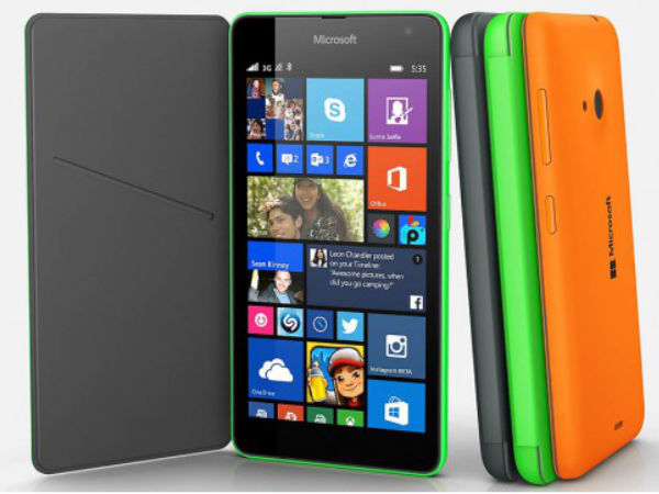 Microsoft Lumia 540 Dual SIM Goes Official In India at Rs 10,199
