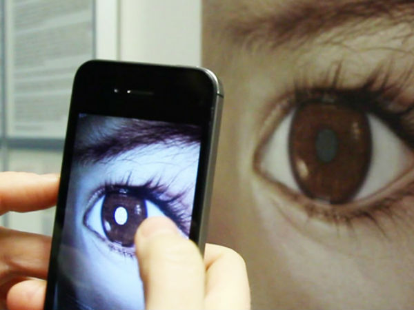 Cameras on Smartphone can spot eye cancer