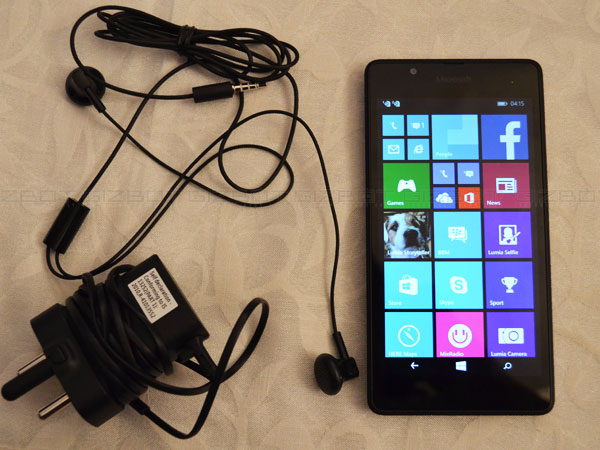 Microsoft Lumia 540 Dual SIM First Look