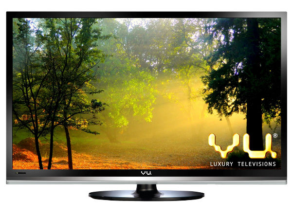 "VU Launches 42"" 4K Smart LED TV For Rs 42,000"
