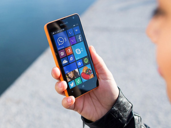 Microsoft launches Lumia 430 series dual SIM card smartphone