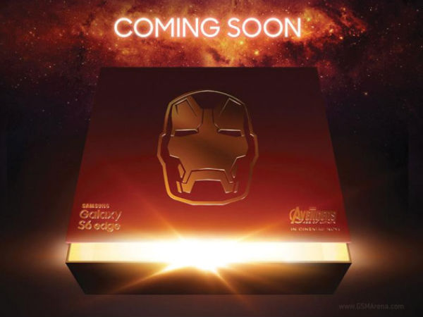 Samsung to Launch Galaxy S6 Edge Iron Man Edition