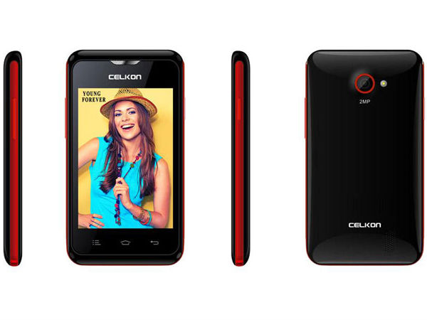 Celkon Campus A359 with 3.5-inch Display, 3G Connectivity Launched