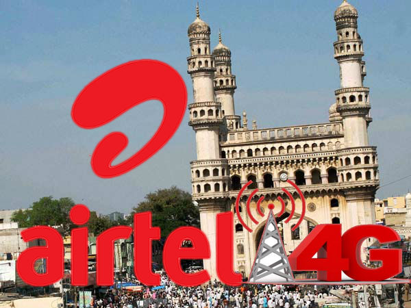 Bharti Airtel Airtel rolls out 4G trial in Hyderabad, Visakhapatnam
