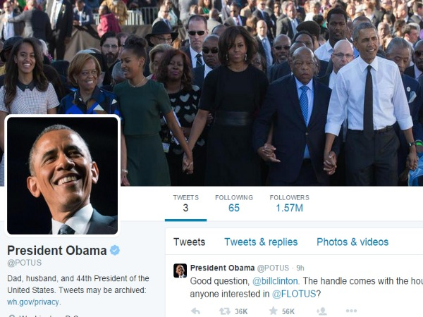 Obama Finally Gets A Personal, Official Twitter Account