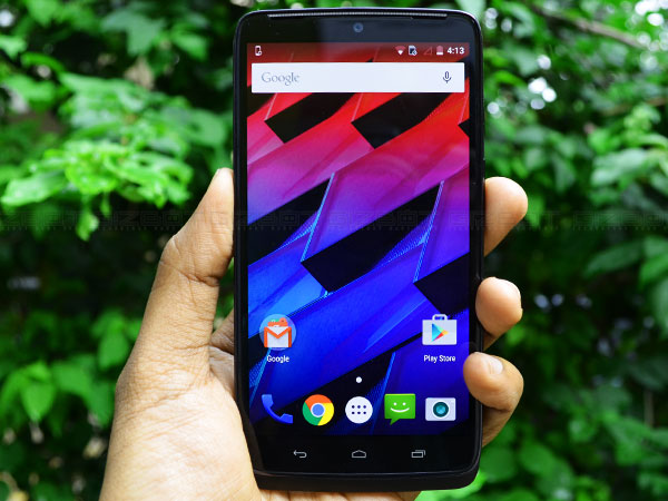 Motorola Moto Turbo With 64GB Internal Memory