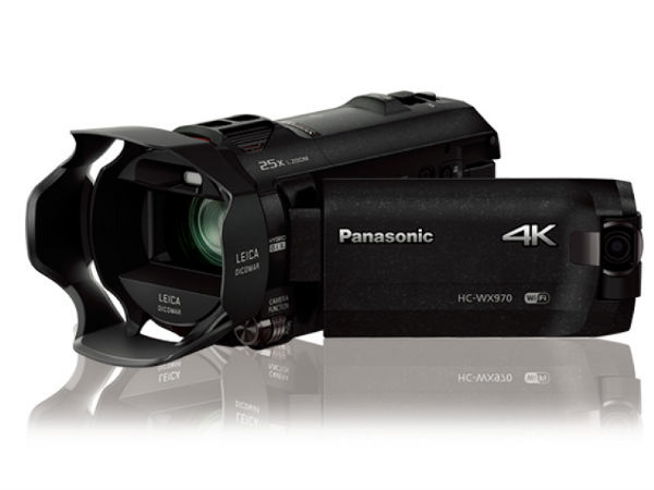 Panasonic Launches Two 4K Ultra HD Camcorders in India