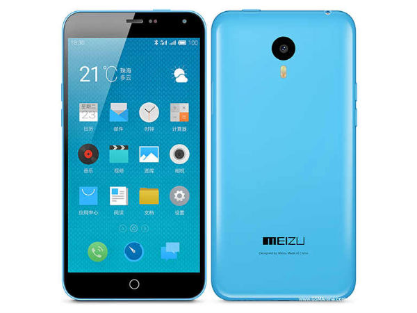 Meizu M1 Note with 5.5-inch Display, Octa-Core CPU Launched