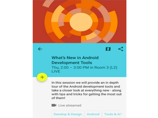 Official Google I/O 2015 App Hits Google Play Store