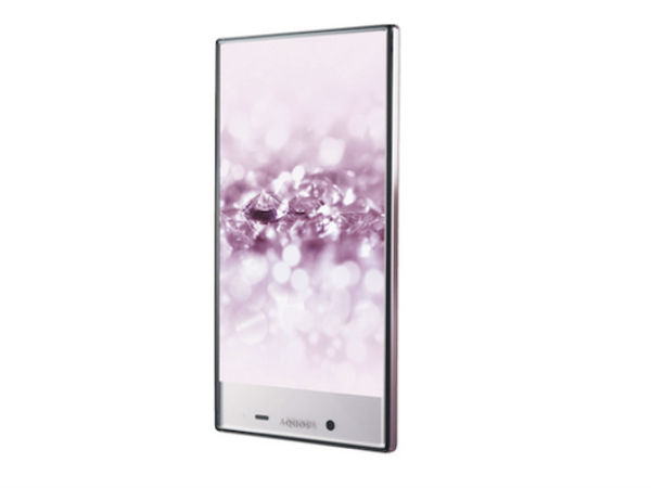 Sharp Aquos Crystal 2 with a Bezel-Less Display Unveiled