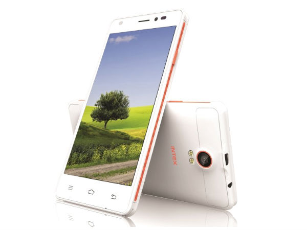 Intex Cloud M5 II with 5-inch Display, Quad-Core CPU Launched
