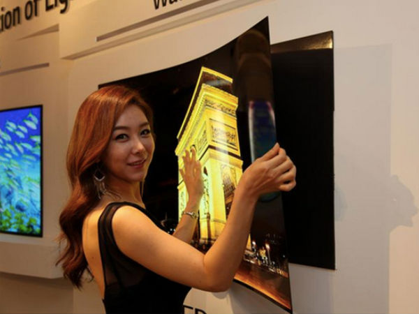 LG's Super-skinny OLED TV can stick on the wall with Magnets