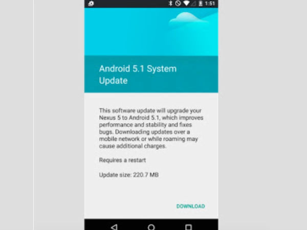 How To Update Nexus 4 And Nexus 5 To Android 5.1.1 Lollipop