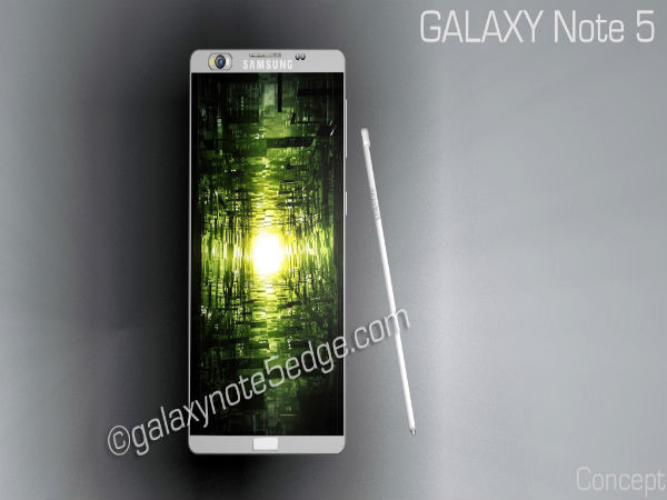 Samsung Galaxy Note 5 and Dual-Edge Display Variant Specs Leaked
