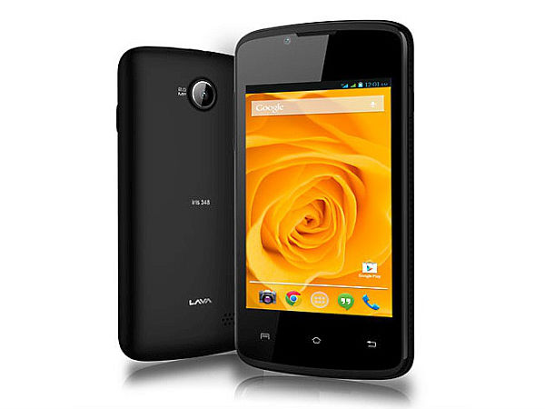 Lava Iris 348 and Iris 349 Sleek Listed on the Official Website