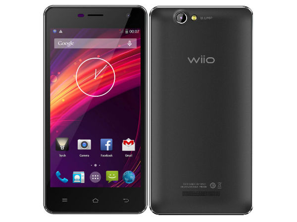 Wiio WI3 Smartphone Launched with 4000mAh battery