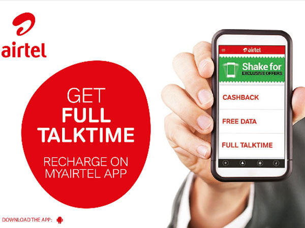 How to Get 50 Minutes of Free Talktime on Airtel 4G SIM
