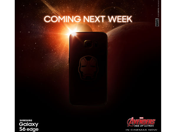Samsung To Launch Galaxy S6 Edge Iron Man Edition Next Week