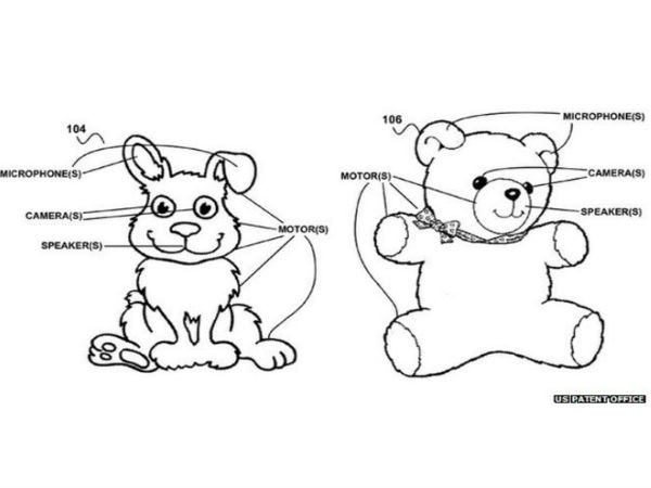 Google patents 'creepy' internet toys for homes