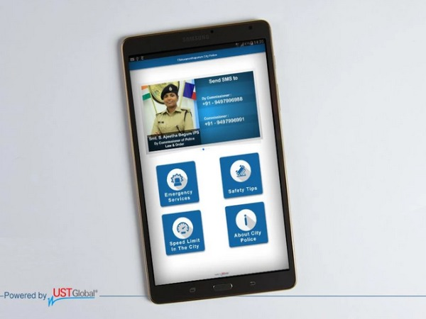 Safety app of Kerala Police wins award