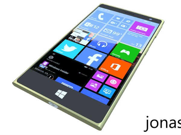 Microsoft Lumia 2000 Display View