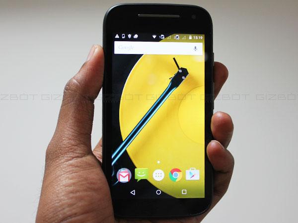 Motorola Moto E 4G Review