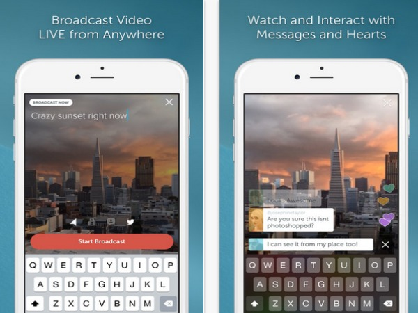 Twitter's periscope now also available for Andraoid and iOS users