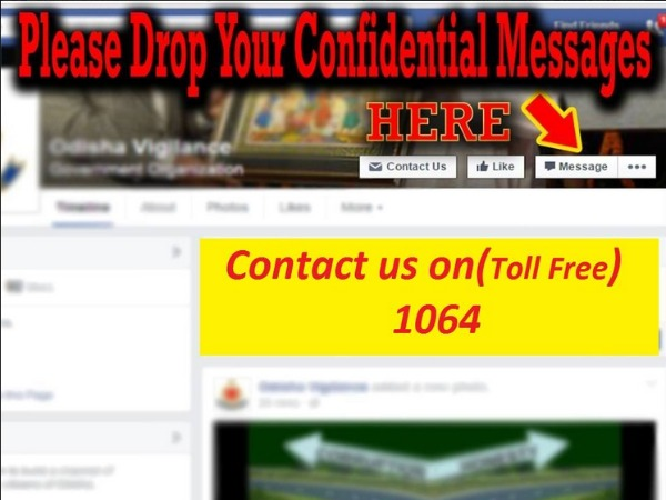 Now complain against corrupt Odisha officials on Facebook