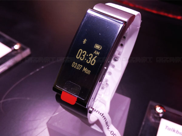 Huawei TalkBand B2 Announced For Asian Countries, Coming to India Soon