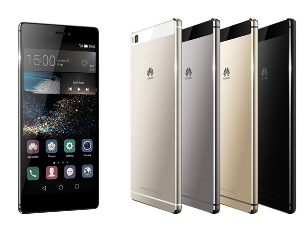 Huawei Unveils Ascend P8 & P8 Max Smartphones in Bangkok
