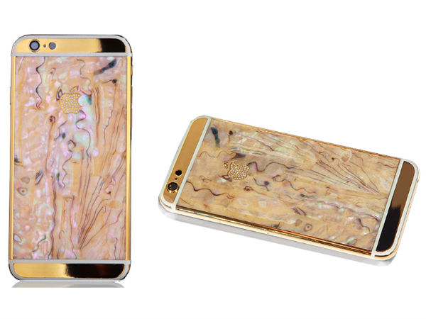 "Goldgenie Unveil the ""Mother of Pearl"" iPhone 6 Collection for Summer"