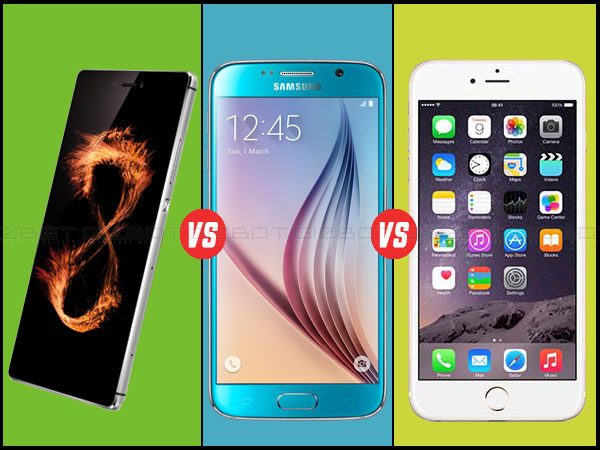 Huawei P8 vs Samsung Galaxy S6 vs Apple iPhone 6: Which Is The Best?