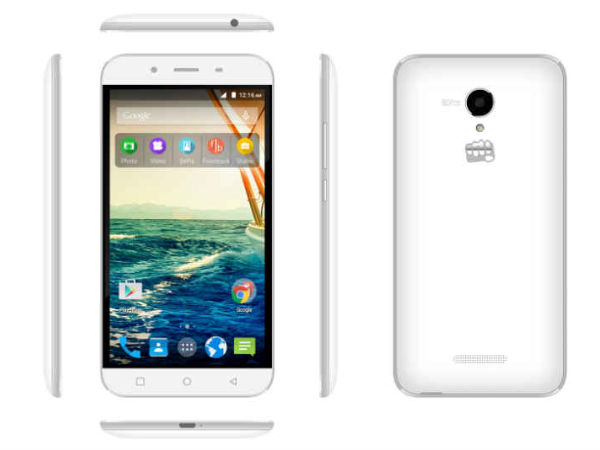 Micromax Canvas Doodle 4 with 6-inch Display, Quad-Core CPU Launched