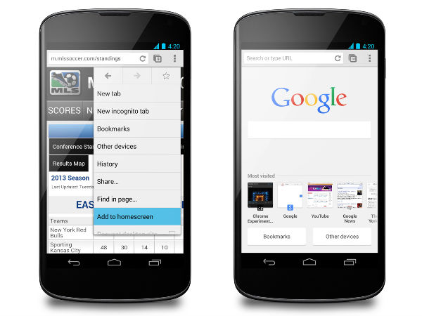 Google Chrome For Android To Receive Network Quality Estimator