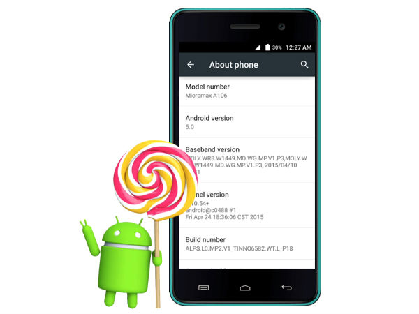 Micromax Unite 2 Started Receiving Android 5.0 Lollipop Update