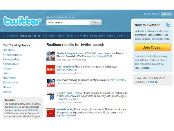 Twitter Rolls Out New Search Results Interface with Filter Option