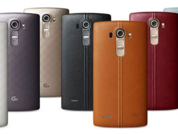 LG G4 is Now Up for Pre-Booking in India