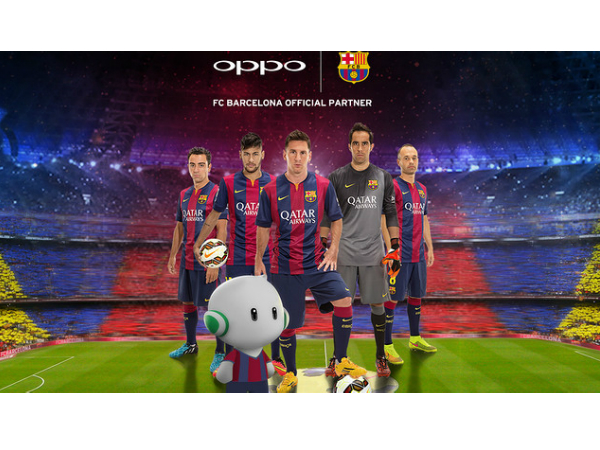 Oppo Is Now Official Partner Of FC Barcelona For 3 Years